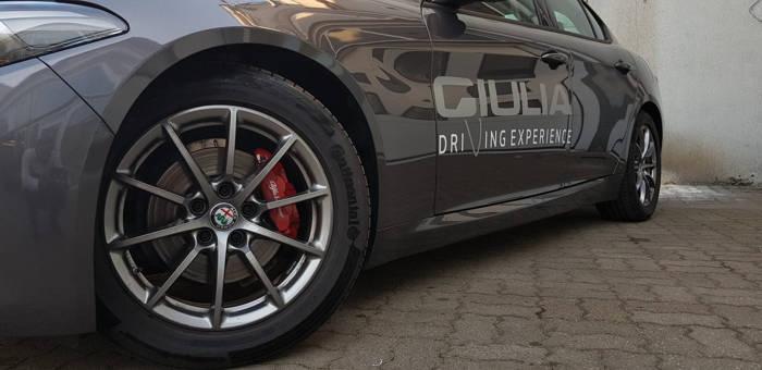 Klasyczna elegancja: Alfa Romeo Giulia